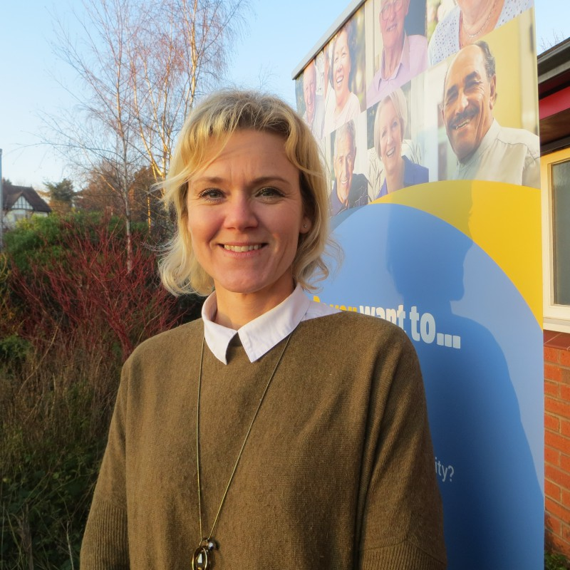 Louise Gough (Brightlife Coordinator for Malpas)