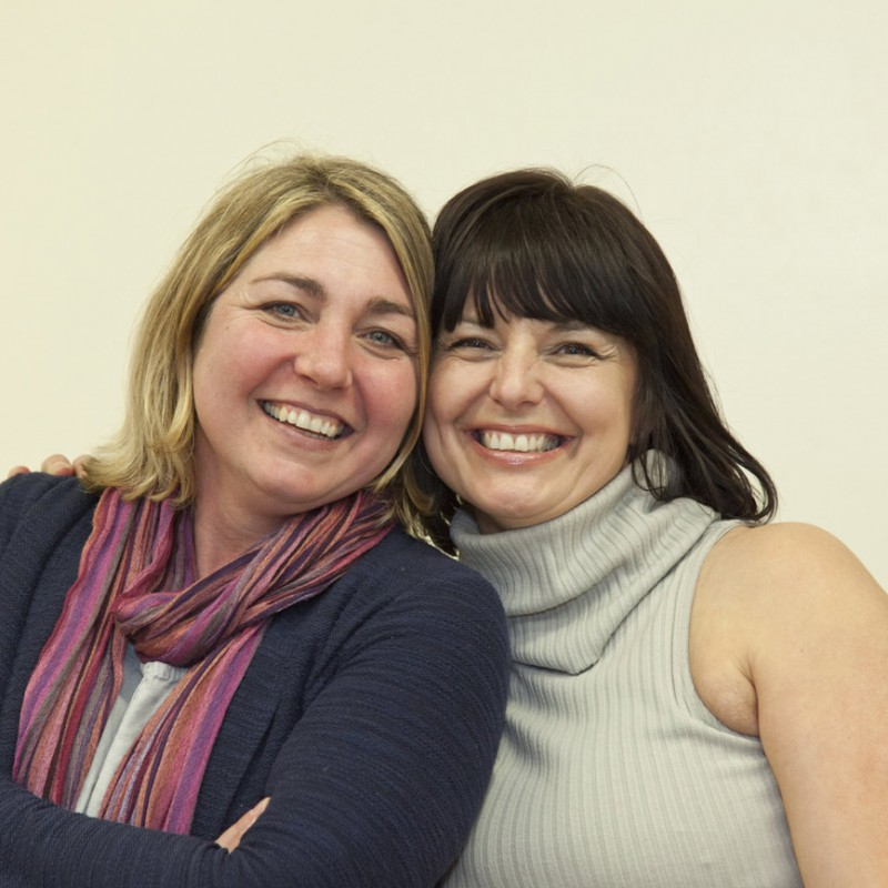 Simone Cobbold and Yvonne Boyle (Co-Founders and Directors, Community Compass)