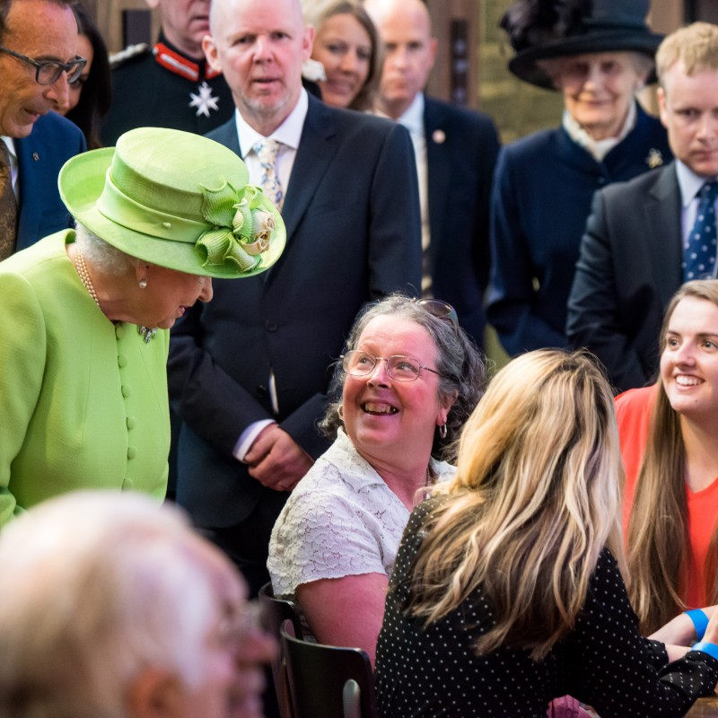 Digital Buddies meet the Queen