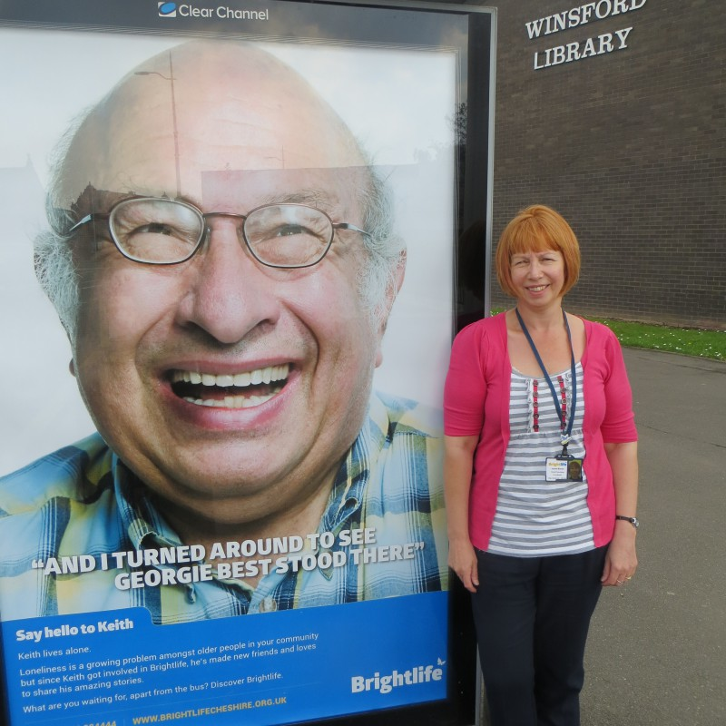 Jackie Brown - and a big 'hello' to Keith in Winsford