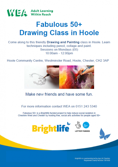 Drawing Class - Hoole