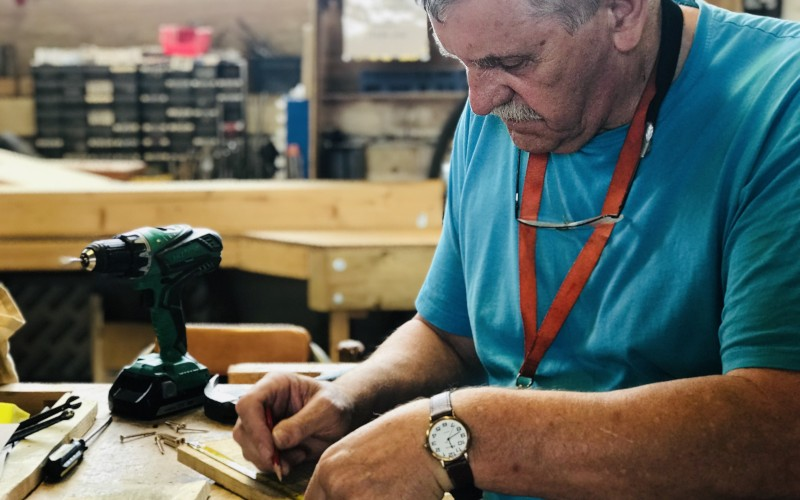 Celebrating life after retirement: The men in sheds on finding a new purpose (Eddie) | Podcast