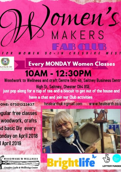 Heal Earth Women's Makers Fab Club